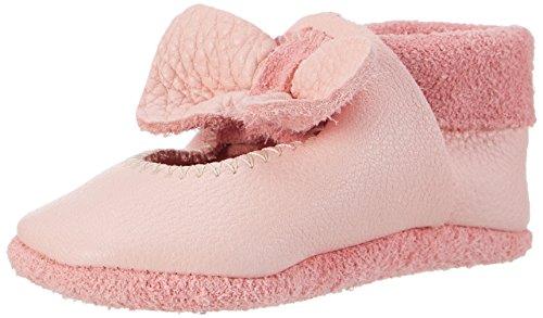 Pololo Unisex-Kinder Ballerina Krabbel- & Hausschuhe, Pink (Rosé 200), 22/23 EU