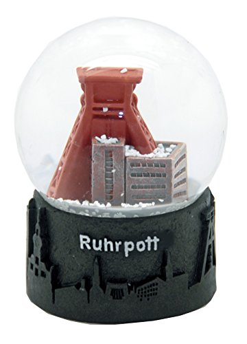 Minium Collection 30045 Souvenir Schneekugel Ruhrpott Skyline