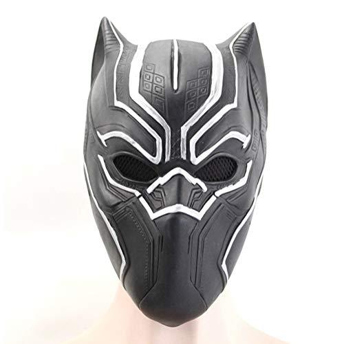 DengDD Panther Mask Hero Ltex Headjear rol De Halloween Casco Completo Campana Cosplay Ropa Accesorios para Nios Y Adultos Pueden Usar