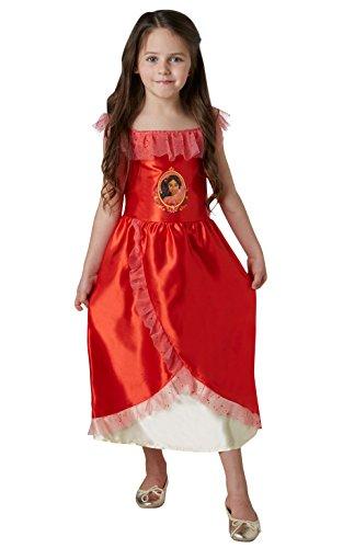 Disney - Disfraz de Elena de Avalor para nia, infantil 5-6 aos (Rubie's 630038-M)