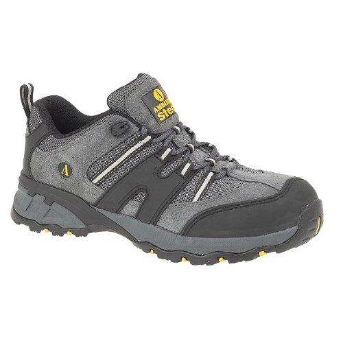 Amblers - Zapatos de Trabajo con Acero FS188 para Chico Hombre (46 EU) (Gris)