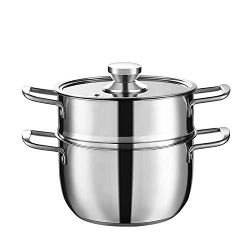 304 En Acier Inoxydable Pot À Soupe Épaississant Cuisinière Binaural Poêle Eau Bouillante Pot