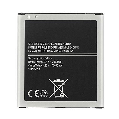 DACHENGJIN - Batería de ion de litio recargable (2600 mAh, EB-BG530CBU EB-BG531BBE para Galaxy J3 Pro / J3110 / J3 2016 / G530 / J5 2015 / J500 / J5009 / G531F / J50FN
