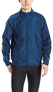"Andrew Marc Men's Gosmans-27.25"" Tech Oxford Bomber Jacket"