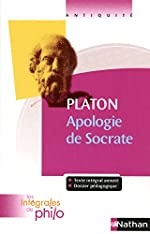 Intégrales de Philo - PLATON, Apologie de Socrate de Pierre Pellegrin