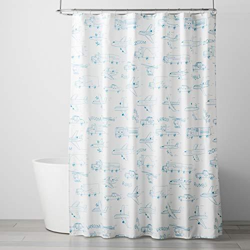 Pillowfort Speedy Study Shower Curtain