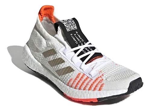adidas Hombre Pulseboost HD J Zapatos de Correr Blanco