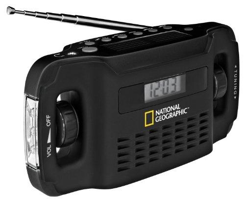 National Geographic Radio Solar + Cargador