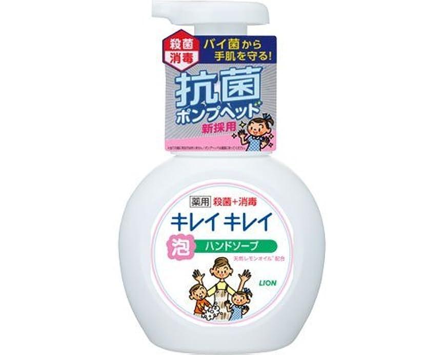 検出省略メーターキレイキレイ薬用泡ハンドソープ 250mLポンプ (ライオン) (手指洗浄)