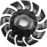 Disco per intagliare il legno in acciaio 90 mm 12 denti Power Shaping Dente Lama di taglio Fresa Utensile per 16 mm foro 100 115 Aperture per la lavor