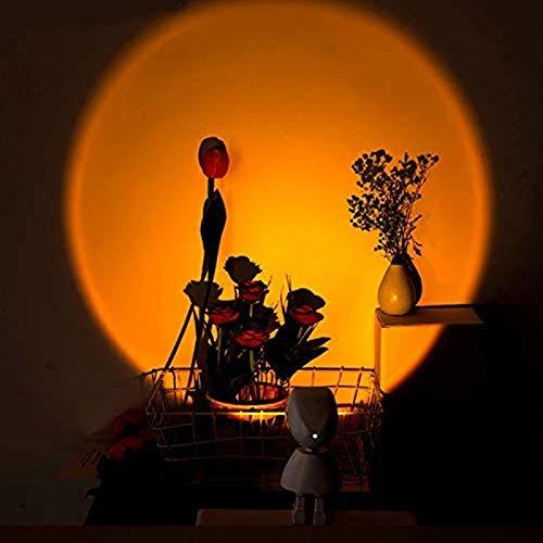 Proyector De Puesta De Sol Robot Arcoíris Led Luz De Suelo Con Carga Usb Arcoíris Proyección Sala De Estar Luz Dormitorio Atmósfera Lámpara De Pie Luces De Noche