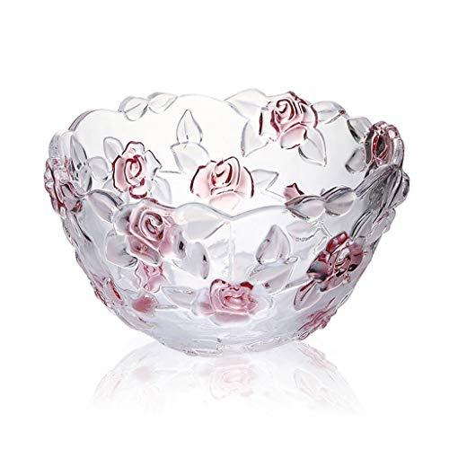 PLL Europese stijl huishouden paars roos fruitschaal woonkamer snoepvak bruiloft fruit emmer