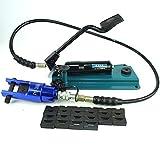 Câble hydraulique Pince à sertir Pince à sertir en alliage d'aluminium avec pompe à pied 10-300mm2 10-300mm2