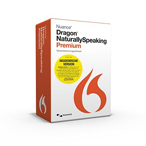 Nuance Dragon NaturallySpeaking 13.0 Premium Akademische Version
