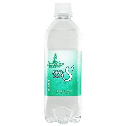強炭酸水 KUOS クオス ラムネフレーバー 大分県日田産 500ml × 24本