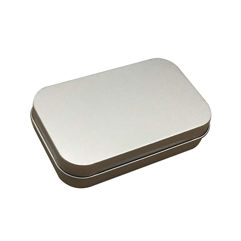 JUEJI ミニボックス ブリキ缶 メタル収納ケース 蓋付き コンテナ 雑貨入れ