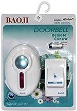 Belong Enterprise Types Music Baoji Wireless Cordless Calling Remote Door Bell (Small, Multicolour).