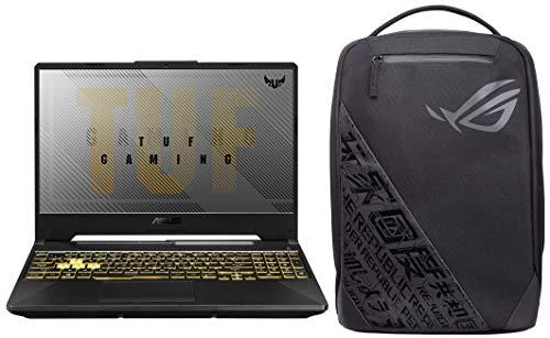 """ASUS TUF Gaming F15 Laptop 15.6"""" FHD Intel Core i7 10th Gen, GTX 1650 4GB GDDR6 Graphics (8GB RAM/512GB NVMe SSD/Windows 10/Fortress Gray/2.30 Kg), FX566LH-BQ036T"""
