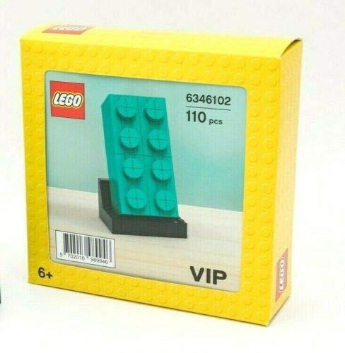 LEGO Edificable 2 x 4 ladrillo verde azulado