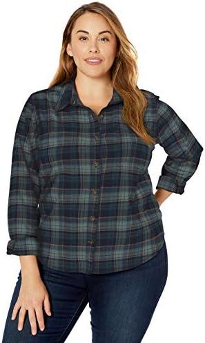 Carhartt Women s Rugged Flex Hamilton Shirt Regular and Plus Sizes Midnight 2X product image