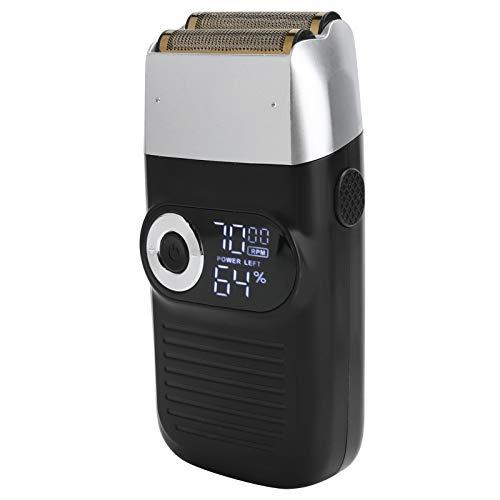 Afeitadora eléctrica, afeitadora, afeitadora de cabeza calva, bajo ruido y duradera para hombres domésticos