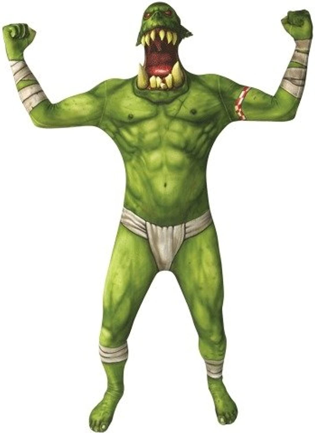 BODY Orc Jaw Dropper Green Morphsuit