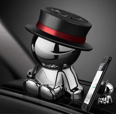 車載ホルダー スマホホルダー 携帯ホルダー 360度回転 可愛い 創意 クリスマス プレゼント (紫) [並行輸入品]