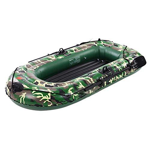 ft Inflatable Boat Series Explorer Touring Kayak Canoe Boat Set, 2/3/4 Persona PVC Bote Inflable Balsas de Kayak con paletas Bomba de Aire, Pesca Rafting Verano Deportes acuáticos Diviértete