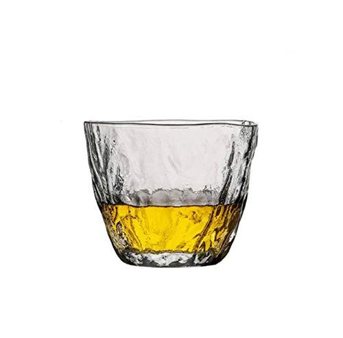 WXXT Vaso de Vidrio,Jarras de Cerveza,Vaso de Whisky de Vidrio Grueso sin Plomo,Vaso de Cerveza de Cristal,Vaso de Alcohol,Vaso de cóctel,Vasos de chupito(245ml)
