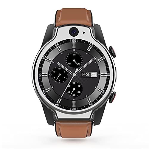 FHJL LEM14 IP68 50M Waterproof Smart Watch, 4G Global 1.6 Pantalla Redonda Completa 4G + 64G 8MP + 5MP Cámara Dual 1100mAh Android 10 Monitor de Ritmo cardíaco Pulsera