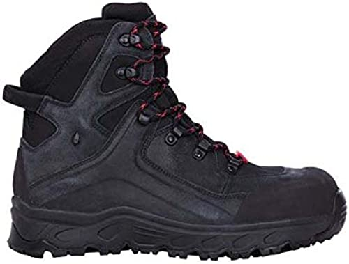 Enamarilloert Strauss 8p93.68.0.47zapatos de seguridad siom de X 12MID, 47, negro