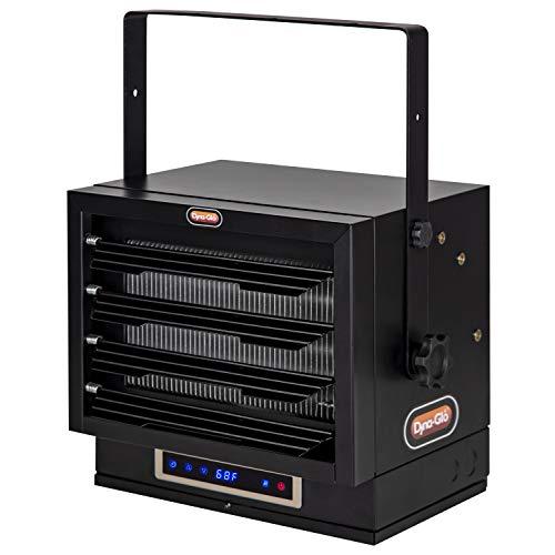 Dyna-Glo EG7500DH Dual Heat 7500W Electric Garage Heater, Black