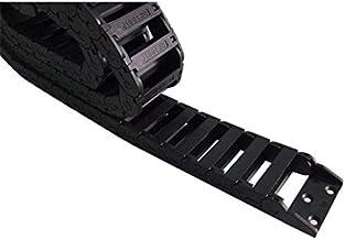 WNJ-TOOL, 1 st 1 Meter 10x30x1000mm Brug Buiten Opening Kunststof Drag Chain Kabel Drag Chain Draad Vervoerder Met Connectors