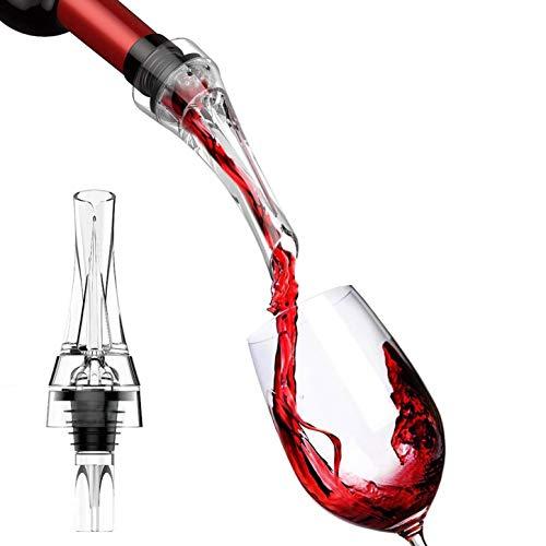 MHC Bar'n'More Dekantier-Ausgießer | Tropfenfreier Weindekanter | Glasweise Belüftung beim Ausschenken | Für Volles Aroma