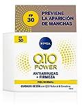 Nivea Q10 Power Antiarrugas Cuidado de Día Triple Defensa FP30, Piel Normal, 50ml