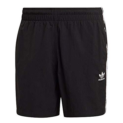 adidas GN3523 3-Stripe Swims Swimsuit Mens Black M