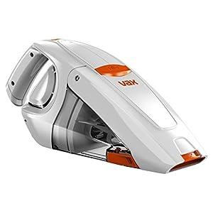 Vax Gator Cordless Handheld Vacuum Cleaner, 0.3 L – White/Orange (Renewed)