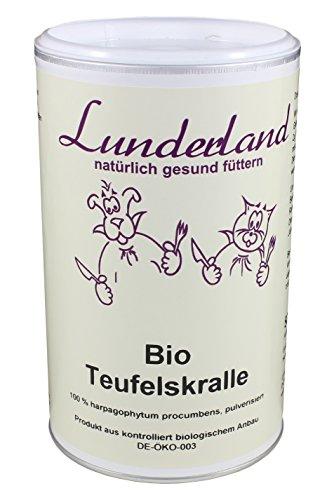 Lunderland - Bio Teufelskralle, 500 g, 1er Pack (1 x 500 g)