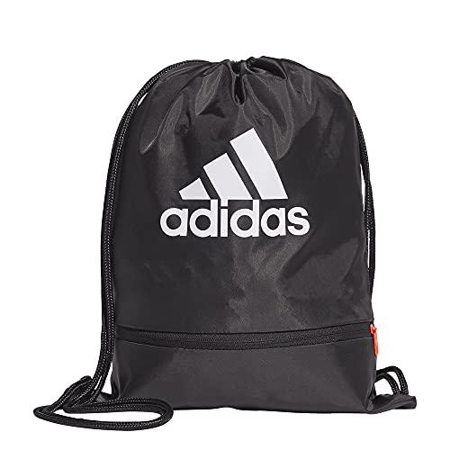 adidas SP Gymsack Bolsa de Gimnasio, Adultos Unisex, Negro/Blanco (Multicolor), Talla Única
