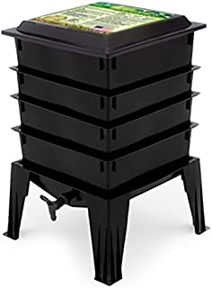 Worm Factory 360 Composting Worm Bin, Black
