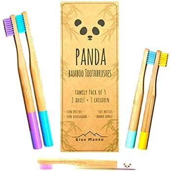 Cepillo Dental de Bambú para Niños ~ Degradado de Color Rosado ...