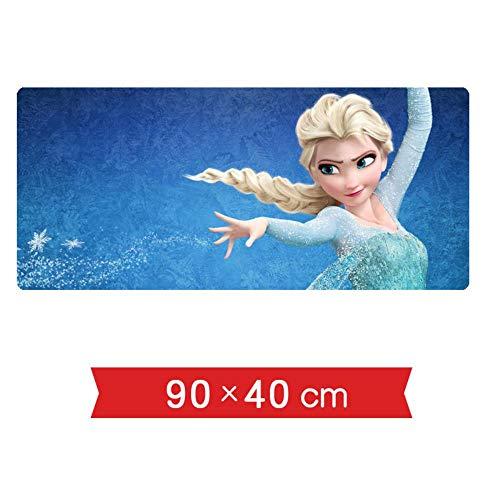 IGIRC muismat ijs en sneeuw 900 x 400 mm muismat, perfecte precisie en snelheid gaming-muismat met 3 mm sterke onderkant, voor notebooks, pc H