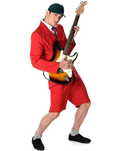 Karnival 21,6cm School Boy Rocker Kostüm, Herren, Violett, Größe M