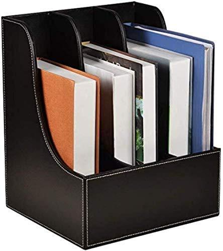Sistema de almacenamiento para archivos, archivadores, revistas, color negro, café