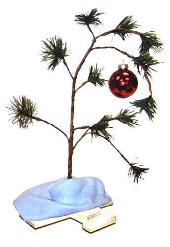 ProductWorks Peanuts Charlie Brown Weihnachtsbaum mit Linus-Decke, 45,7 cm