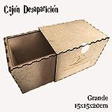 RecontraMago Cajas para Ilusionismo, Juegos de Magia en Madera (Cajón desaparición)