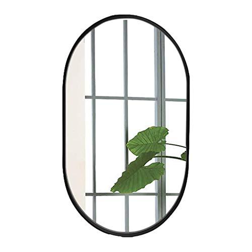 ZHAOJYZ Household Necessities/Muro badkamerspiegel, ovaal, voor de woonkamer, voor de deur, dressing, badkamerspiegel, met spiegel
