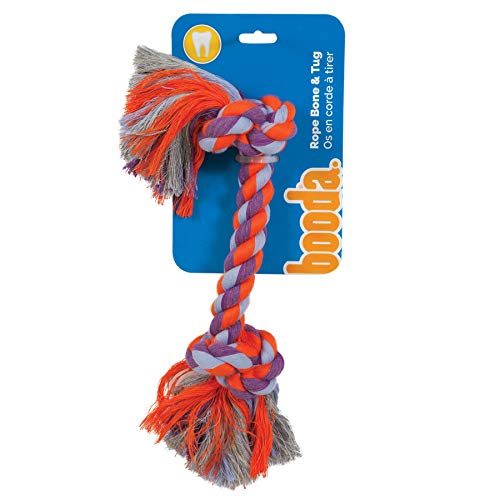 Booda 2-Knot Rope Bone Dog Toy