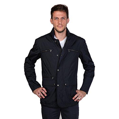 Geox - Abrigo de Manga Larga para Hombre, Talla XL, Color Azul...