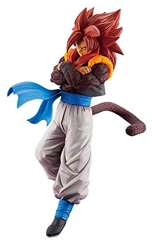 XIAOGING Dragon Ball GT Figura, Super Saiyan IV, Goujita, Rey Mono Figura (Color : B)